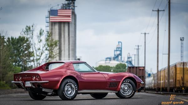 1970 454 4spd Corvette by Jsbfoto