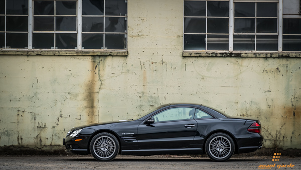 2003 Mercedes SL55 by Jsbfoto