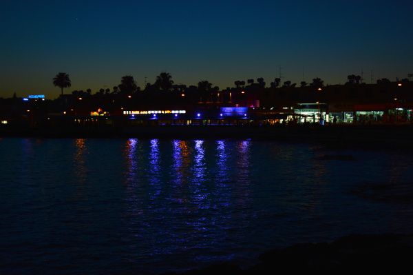 Paphos night by MikeGoffin