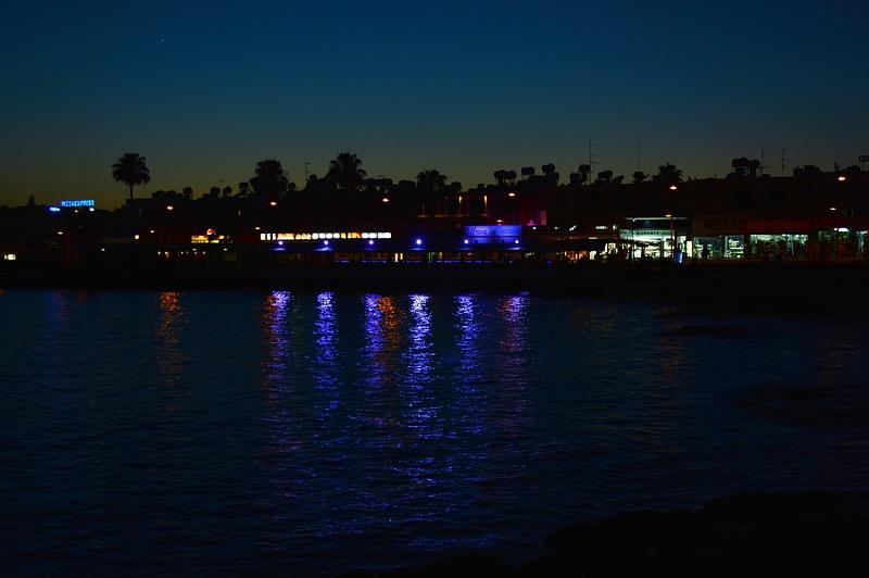 Paphos night