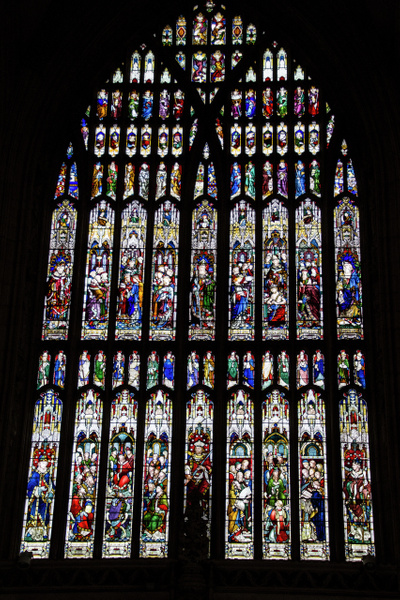 Stained Glass in the minster by MikeGoffin