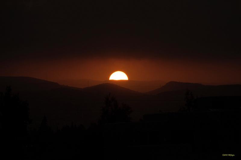 Troodos sunrise