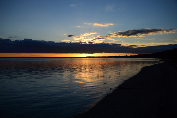 Ferriby sunset by MikeGoffin