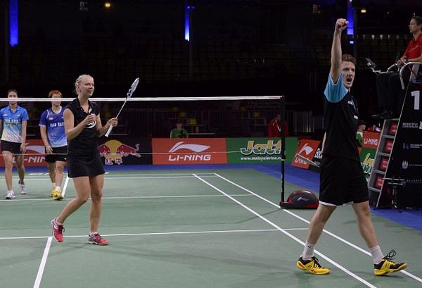 Seger mot Indonesien by BadmintonSweden