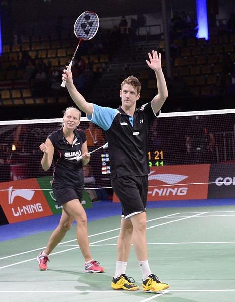 Vinst mot Indonesien by BadmintonSweden