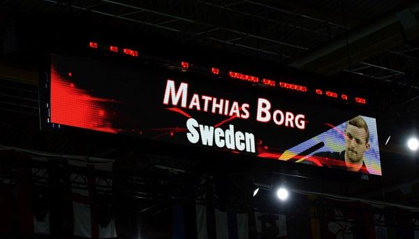 Fina matchskyltar i VM by BadmintonSweden