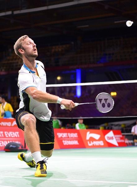 Mathias Borg by BadmintonSweden