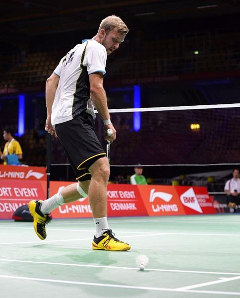 Mathias Borg Förlust mot Eric Pang, första omgången by BadmintonSweden