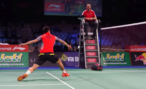 Chen Long by BadmintonSweden