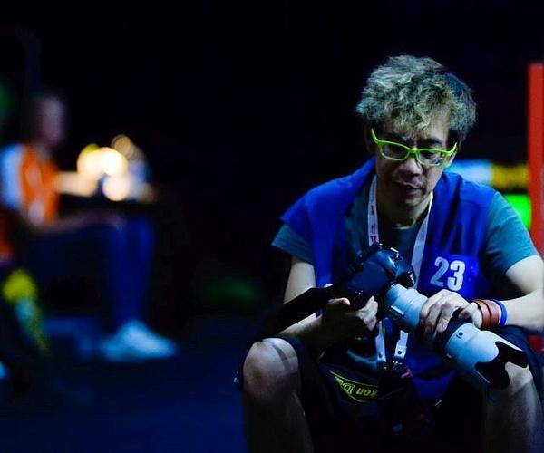 Fotograf i WM by BadmintonSweden