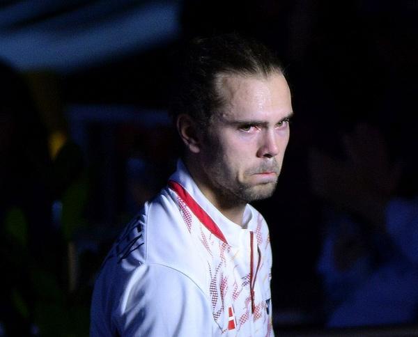 Jan O Jörgensen, efter förlust by BadmintonSweden