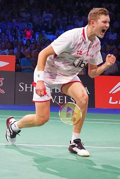 Semifinalplats säkrad för Viktor Axelsen by BadmintonSweden