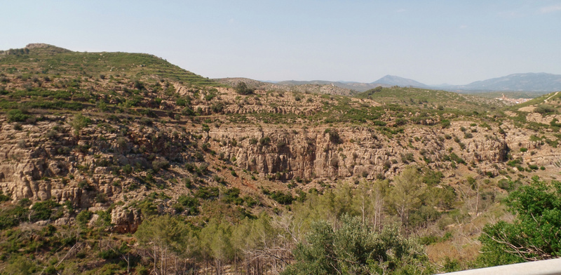 a canyon in Spain