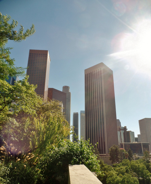 Downtown L.A. by Henner Stollberg