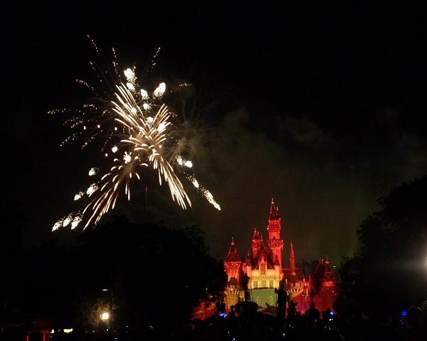 Fireworks at Disneyland by Henner Stollberg