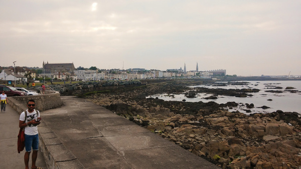 to Dun Laoghaire Marina by Henner Stollberg
