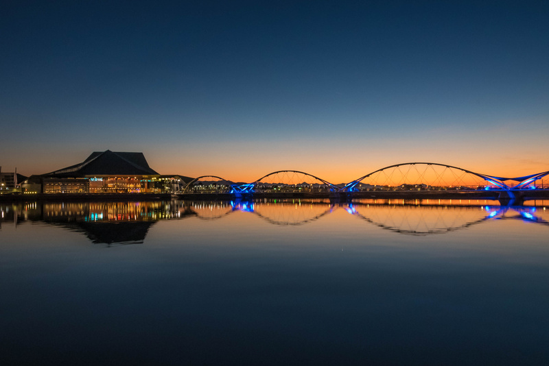 Tempe Center for the Arts at Sunset