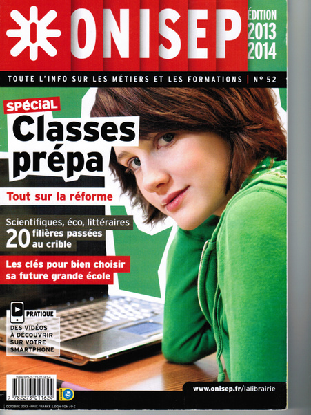 ONISEP CLASSE PREPA ARTICLES by MickeyMom