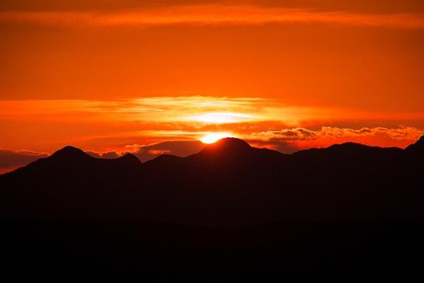 Utah Sunset by CathyDonohoue