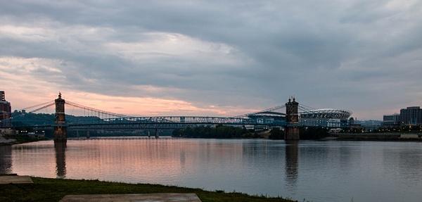 Roebling Suspensioin Bridge by CathyDonohoue