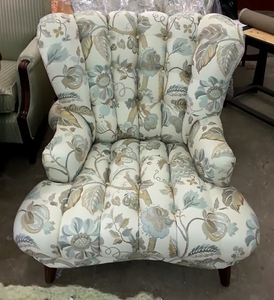 Reupholstery chair by Lincoln Interiors