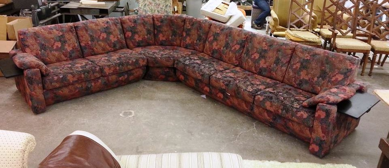 Old Sectional Lincoln Reupholstery
