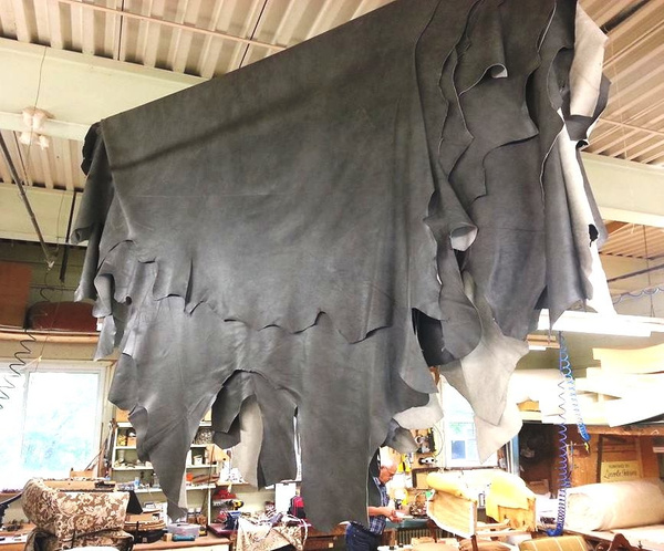 Leather Hides Lincoln Reupholstery by Lincoln Interiors