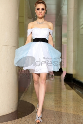 Ready To Wear Affordable Off Shoulder Puffy Quinceanera...