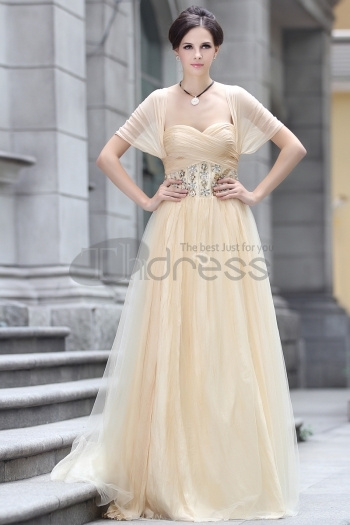 Free Shipping Loose Style Cap Sleeves One Pink Long Formal Wear Bridesmaid Dresses With New Fashion