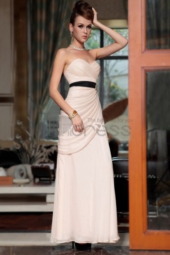 Manufacturer Selling Fast Shipping Sexy Strapless Light Pink Rhinestone Long Zuhair Murad Dress For Prom by NarutoDonson