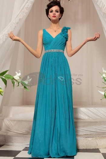 Blue Long Section Of Toast Dress Evening Dress by...