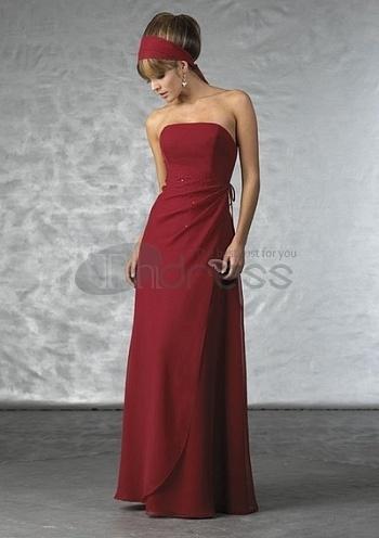 Bridesmaid-Dresses-Red-strapless-bridesmaid-dress-bmz_cache-c-c1594b322b85540ff1cc618221883837.image.350x496 by RobeMode