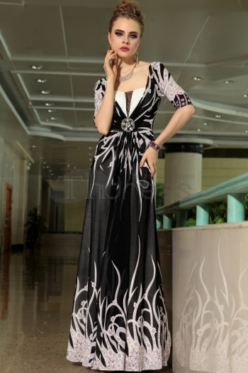 Dresses-in-Stock-Slim-black-deep-V-collar-high-end-banquet-evening-dress-bmz_cache-b-bd21eb0ab4545c45030c23f29d54a5ea.image.350x by RobeMode