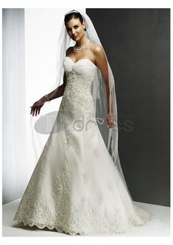 Strapless-Wedding-Dresses-slim-a-line-gown-sweetheart-neckline-strapless-wedding-dresses-bmz_cache-9-9d14a9608daa05b0878e562315d by RobeMode