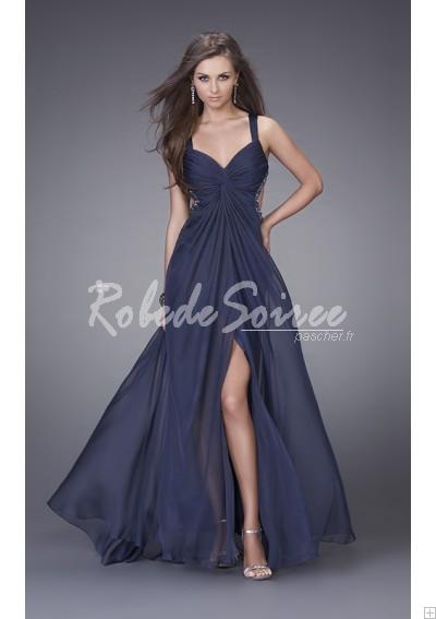 Robe-de-Soirée-Sexy-Décolleté-en-mousseline-de-soie-chérie-avec-bretelles-doubles-Ro-bmz_cache-c-cd531d28e9e4cbb6e5b1132e9bbd575 by RobeMode