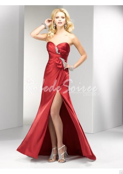Robe-de-Soirée-Sexy-élégant-décolleté-bustier-bretelles-Rouched-satin-soir-Colonne-R-bmz_cache-d-dd44c8bf9801c38ec5072914cb0dd56 by RobeMode
