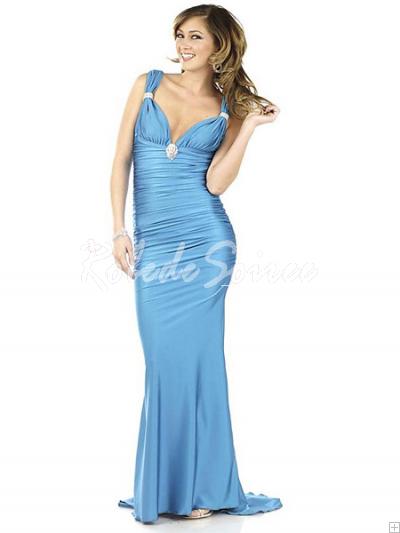 Robe-de-Soirée-Longue-Elégant-et-stylé-bleu-classique-bretelles-col-V-robe-bmz_cache-8-87681993bb594679033e86628dd527e0.image.40 by RobeMode