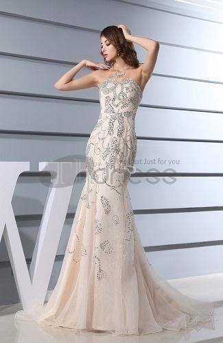 Long-Evening-Dresses-Modest-Church-Sleeveless-Zip-up-Court-Train-Sequin-Bridal-Gowns-bmz_cache-7-78e3a51eb22e99b2050d21f2c8c6cd4 by RobeMode
