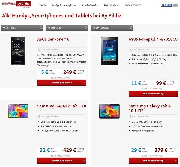 AY YILDIZ Alle Handys und Smartphones by PedramMassal