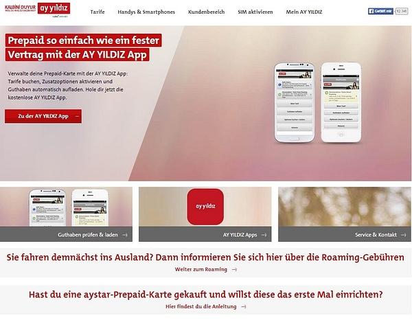 AY YILDIZ Kundenbereich by PedramMassal