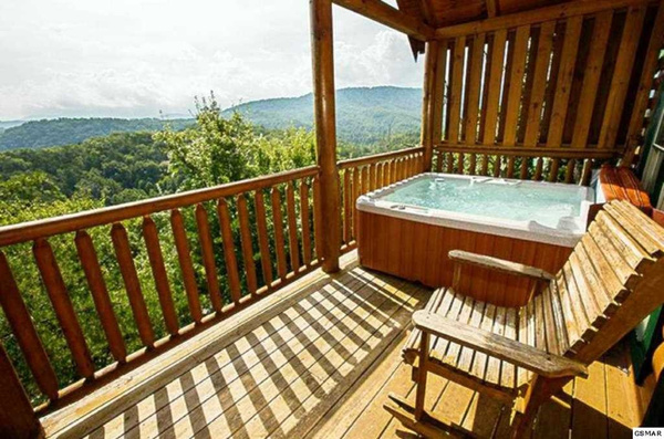 13 Back Deck w Hot Tub by JaniceTabor