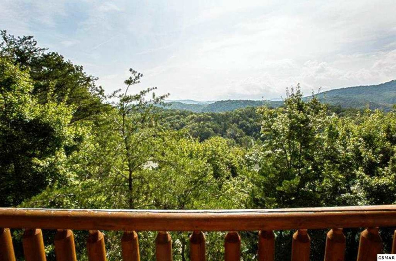 15 View of Smoky Mtns from Back Deck (hazy day)
