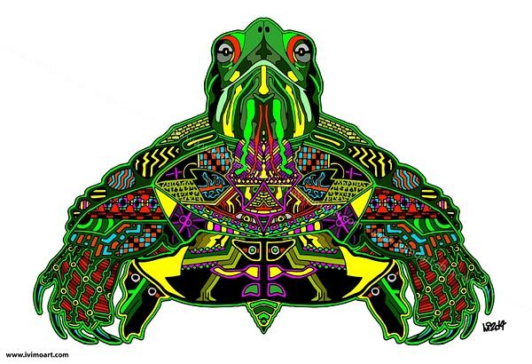 Pineal Turtle by IviMoArt