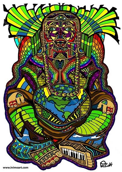 Buddha by IviMoArt