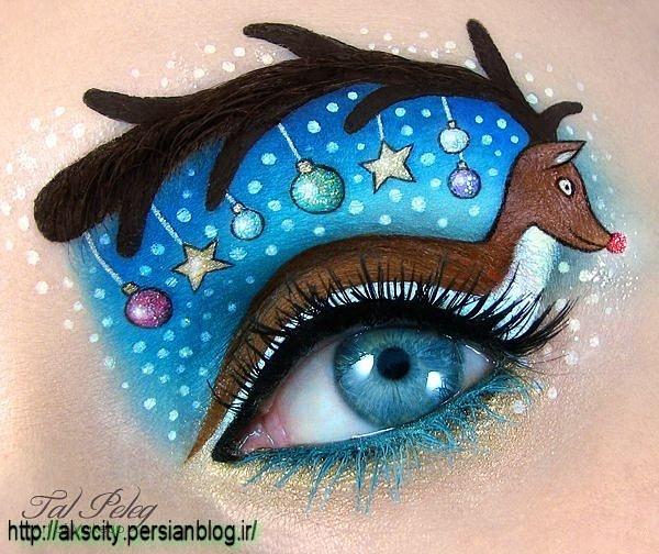 عکسهای نقاشی های جالب چشم(http://akscity.persianblog.ir)