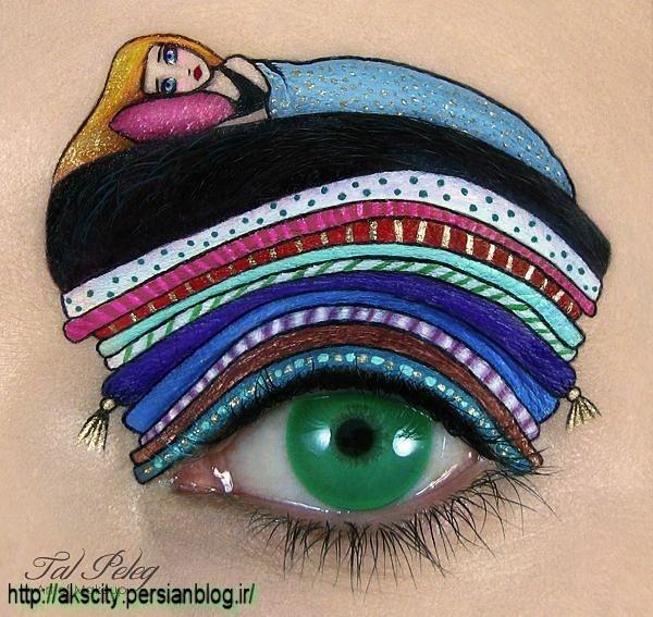 عکسهای نقاشی های جالب چشم by Mahdid1