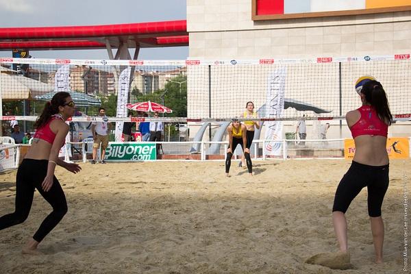 TVF Pro Beach Tour 2014 - Ankara, 1. Gün by Mike van der Lee