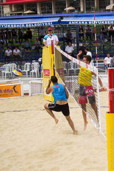 TVF Pro Beach Tour 2014 - Ankara, 1. Gün by Mike van der Lee