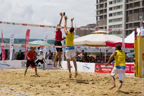 TVF Pro Beach Tour 2014, Ankara - 4. Gün by Mike van der Lee