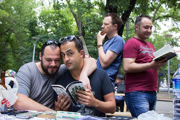 Yasemin Önder_Kitap Ağacı, Kurtuluş Parkı, Pazar 22-06-14_20 by Mike van der Lee